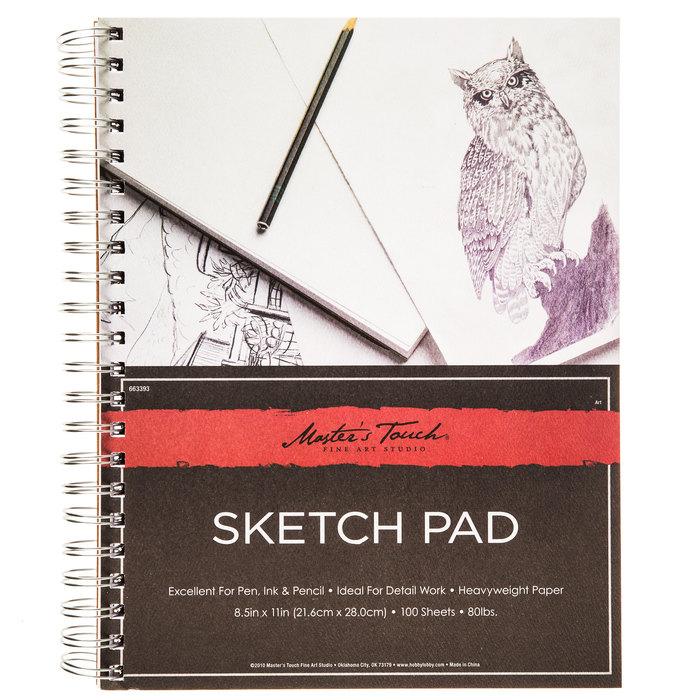 Sketch Pad 8 1 2 X 11 Hobby Lobby 663393